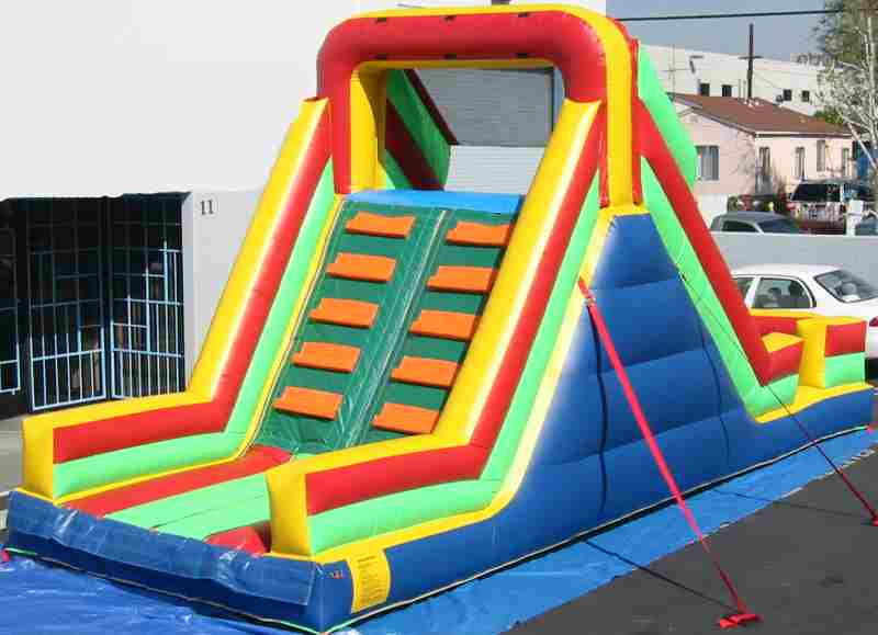 small inflateable slide